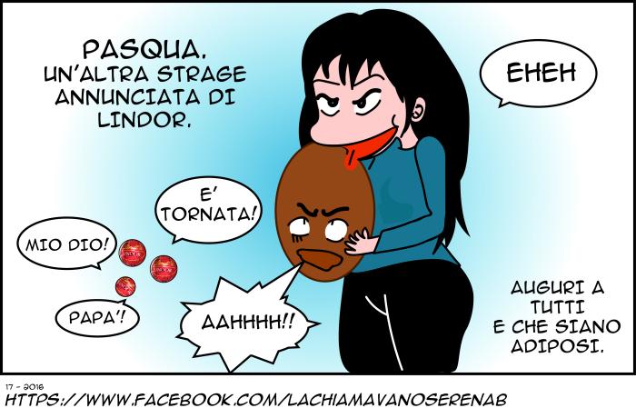 BUONA PASQUA E FELICE STRAGE DILINDOR
