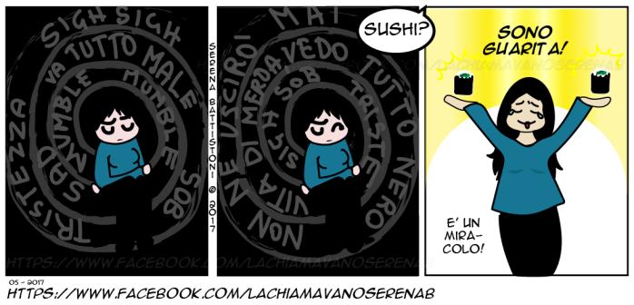 MORTA-DENTRO-E-POI-SUSHI--SERENAB-Lachiamavanoserenab-fumetti