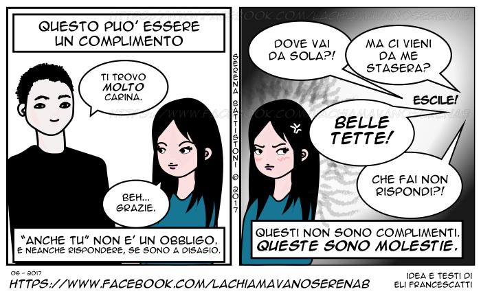 COMPLIMENTI-SESSISMO--SERENAB-Lachiamavanoserenab-fumetti