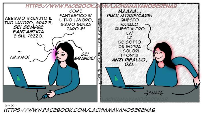 La chiamavano SerenaB, SerenaB, fumetti, fumetti italiani, manga, vignette, fumetti online, webcomic, webcomics, humor, leggi, online, lavoro freelance